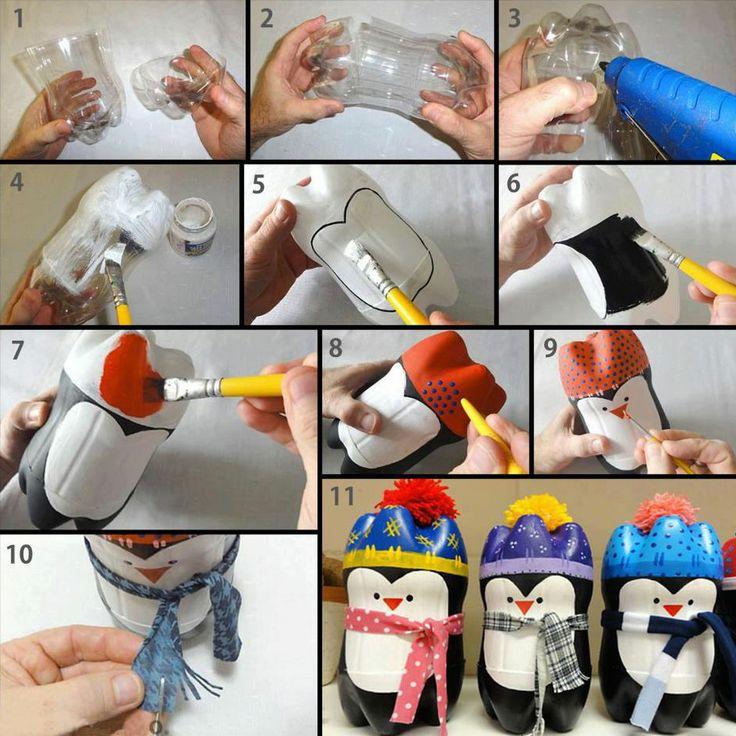 Поделки игрушки своими руками из пластиковых бутылок