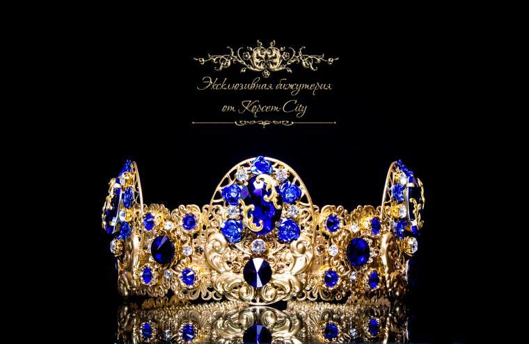 тиара корона, в стиле дольче габбана, женские украшения