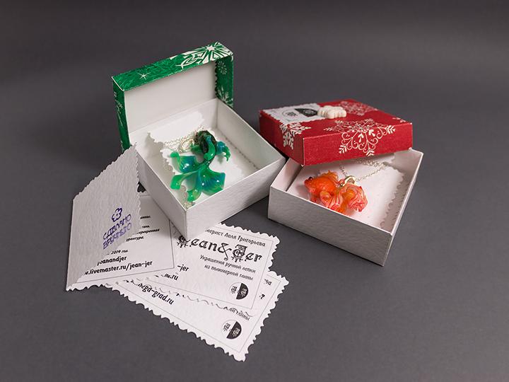 подарочная упаковка, подарочные коробочки, леля григорьева, зимние коробочки