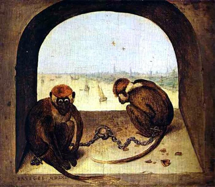 Картинки по запросу обезьянки в европейской живописи