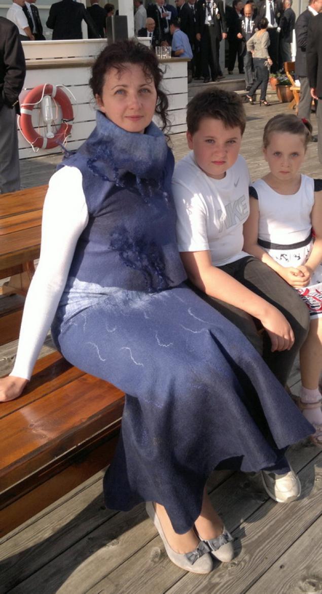 юбка без швов