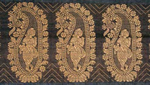 винтажное сари