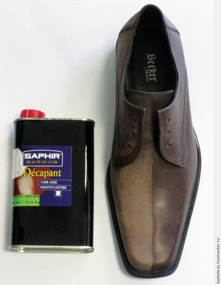 Преображаем туфли с помощью акриловых красителей, фото № 1