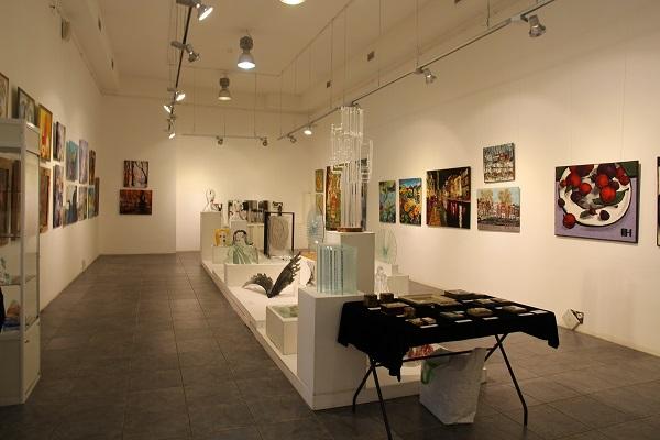 батик, выставка