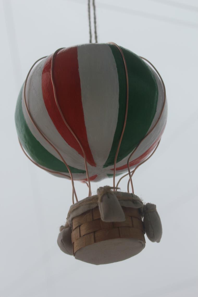 модель аэростата, романтичный подарок, шар