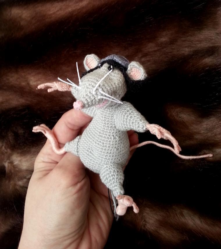 летучий мышонок, мышонок летчик