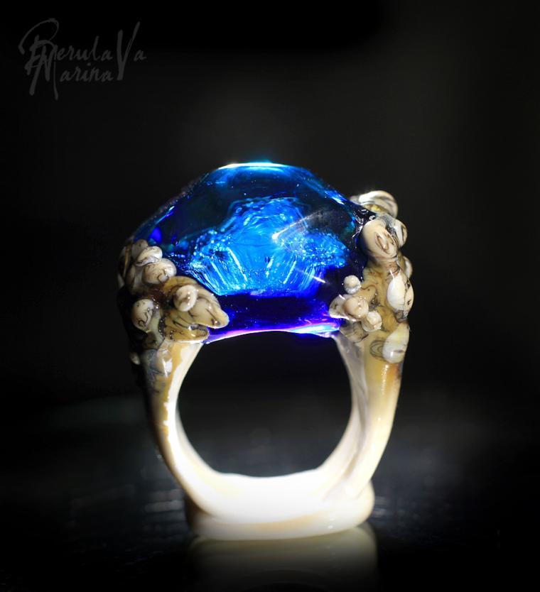 стеклянные кольца