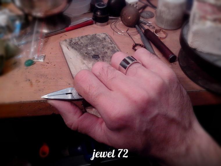 Делаем стильное кольцо из серебра, фото № 20