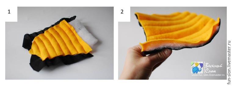 Шьем яркий и реалистичный игровой коврик из фетра, фото № 26