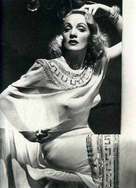 Марлен Дитрих. Платье из