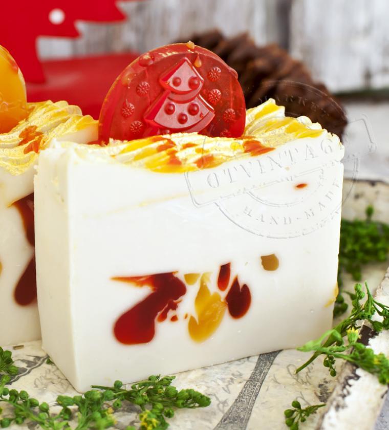 натуральное мыло, апельсин