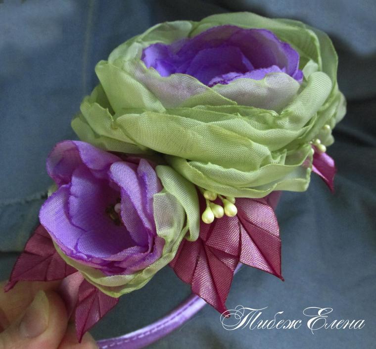 благотворительная акция, омск, творческая мастерская, цветы из ткани