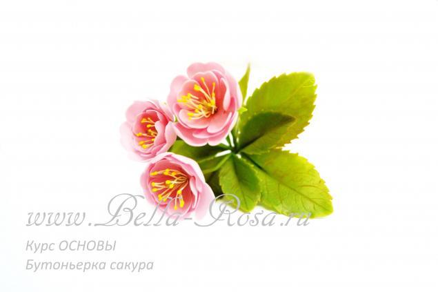 лепка цветов, мастер-класс по лепке
