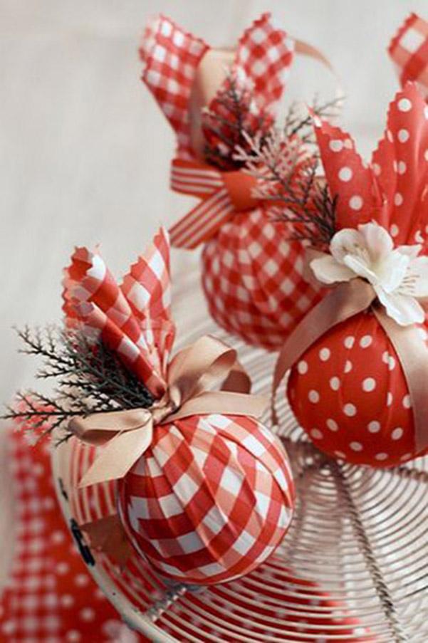 Новогодние игрушки на елку своими руками из