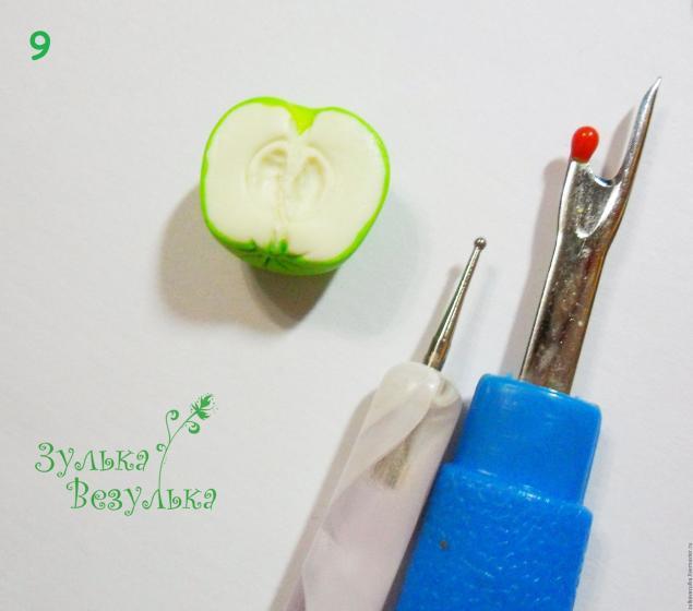 делаем яблоки