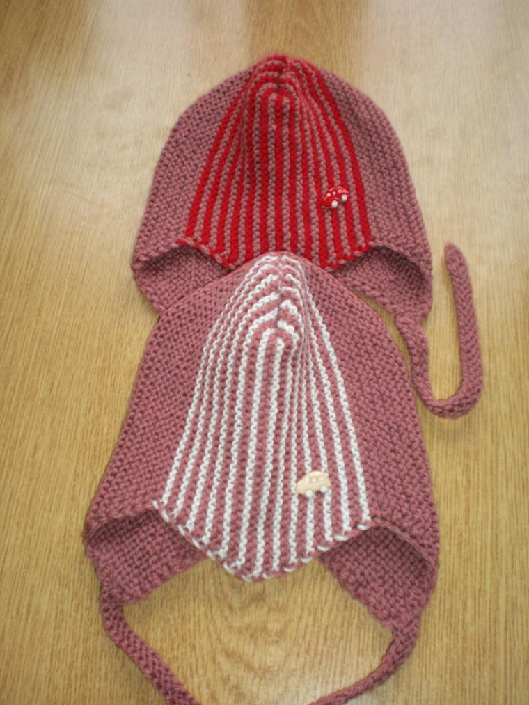 вязаные шапочки, шапочка для девочки