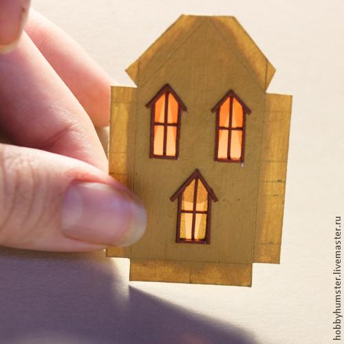 домик в миниатюре