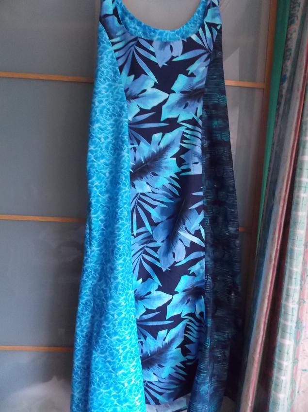 пошив платья, платье из хлопка