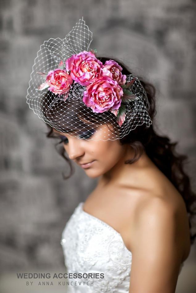 образ невесты, шляпка