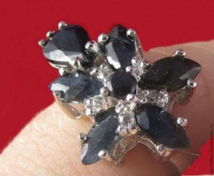 серебряное кольцо, аметрин, кольцо с аметрином