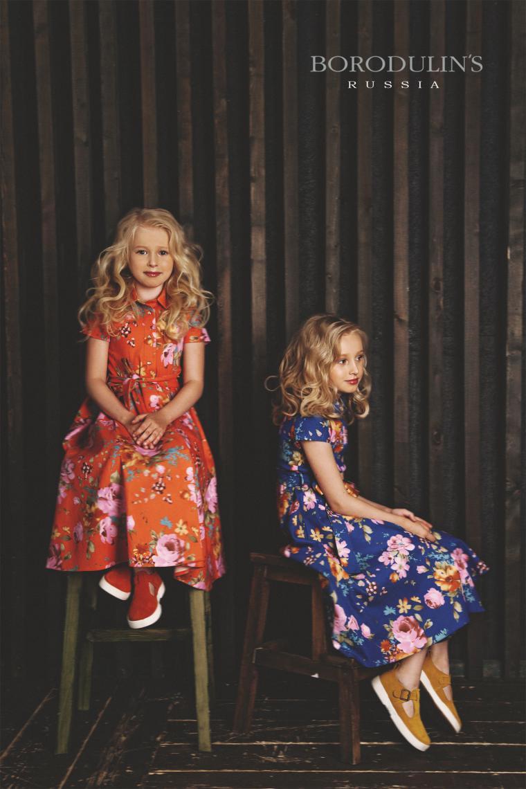модели, дизайнерская одежда, платье для девочки