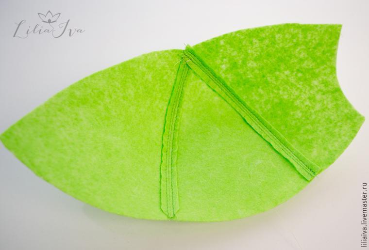 Шьем шапочку-капусту для детского капустника, фото № 4