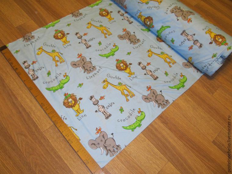 Как сшить детское постельное белье своими руками мастер