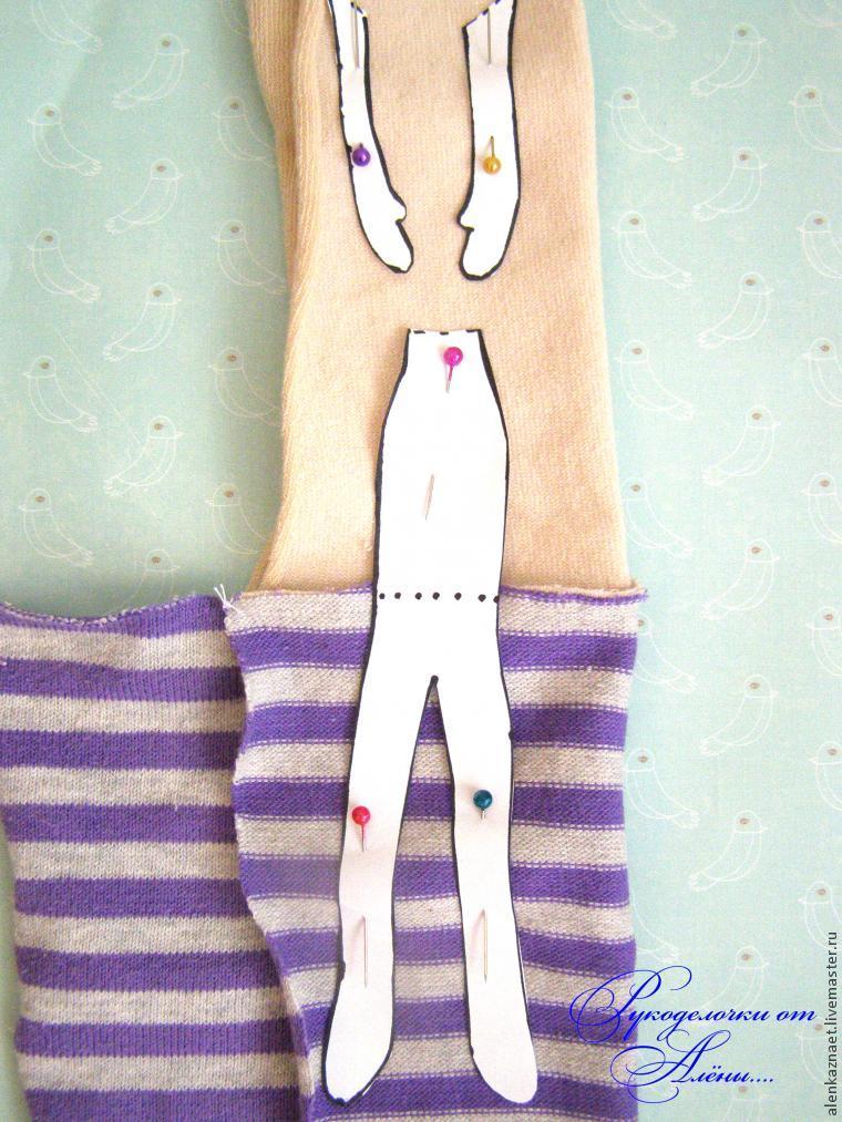 Мастерим куклу-подвеску «Бабочка» по мотивам Лалалупси, фото № 14