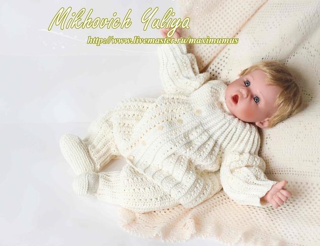 3. одежда для новорождённых девочек. мастер -классы для начинающих, схемы