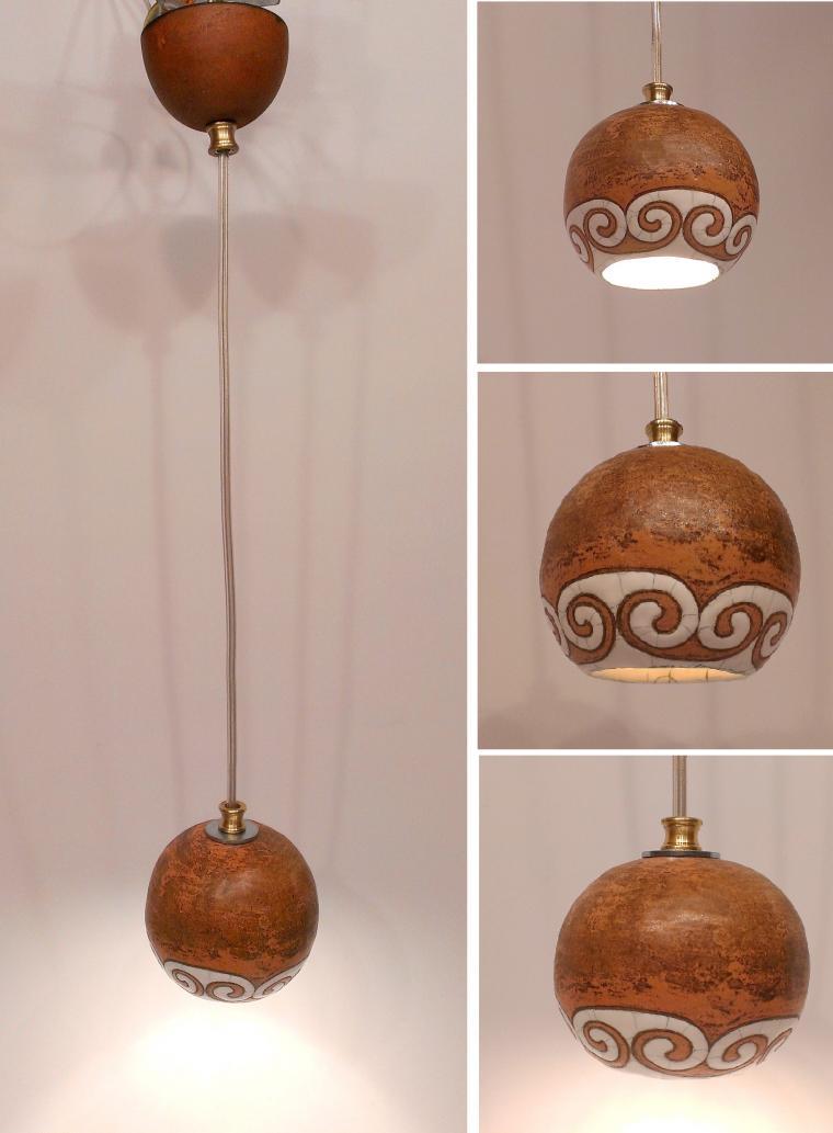 керамические люстры, встроенный в потолок, дизайнерские люстры, светильник в эко стиле