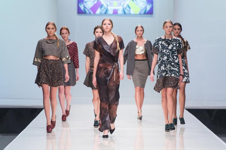 неделя моды в москве, женщина