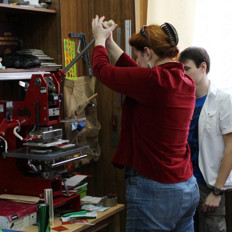 Фото отчёт с бесплатного мастер класс, который прошел 2 го апреля 2016 года «Изготовление визитницы», фото № 8
