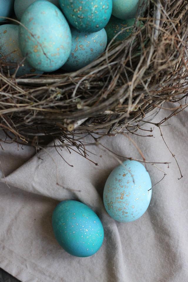 Волшебный способ окрашивания пасхальных яиц, фото № 7