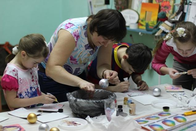Фотоотчет: Детская студия живописи., фото № 7