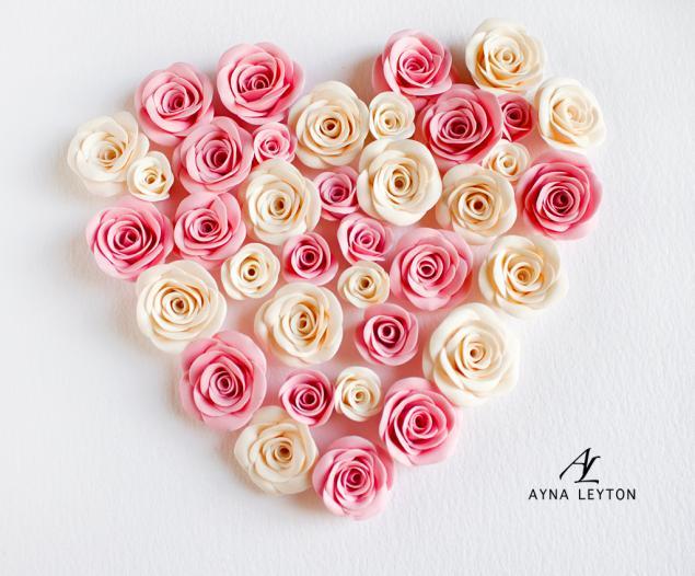 украшения с цветами, розы, нежность, цветы ручной работы