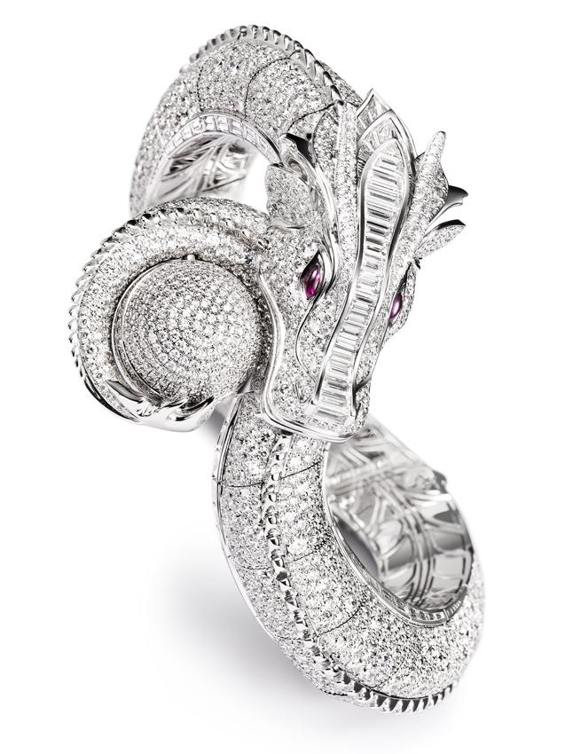бриллианты, кафф