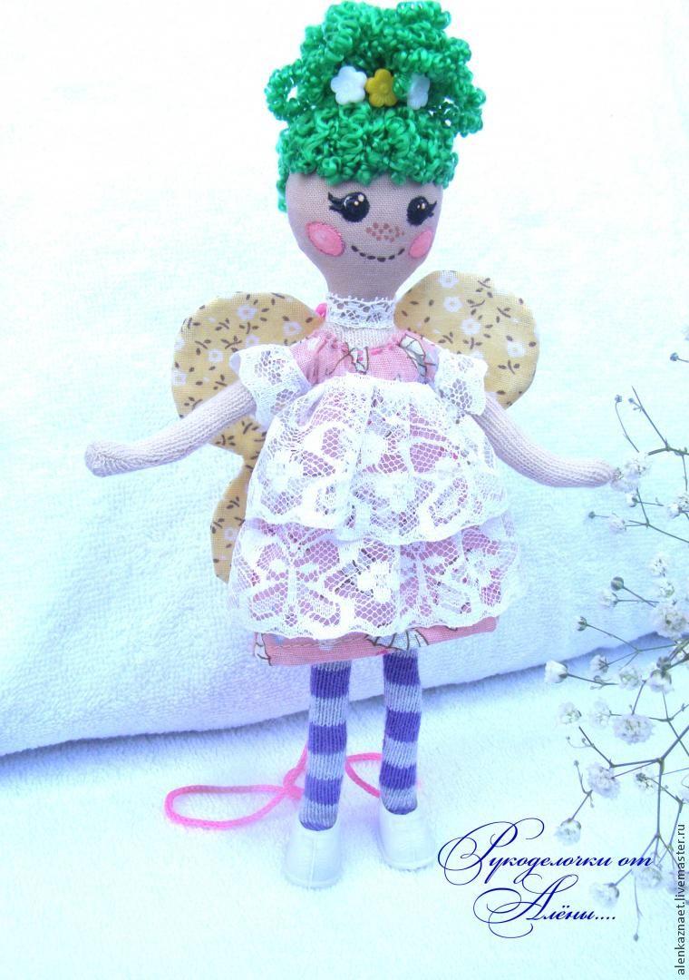 Мастерим куклу-подвеску «Бабочка» по мотивам Лалалупси, фото № 31