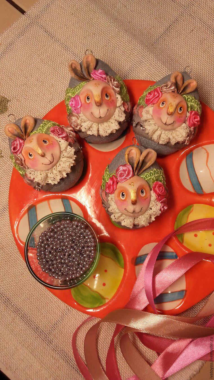Делаем пасхальные яйца для праздничного интерьера, фото № 18