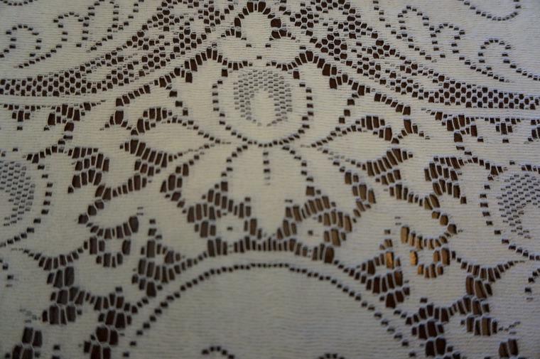 скатерть, для украшений, филейное вязание
