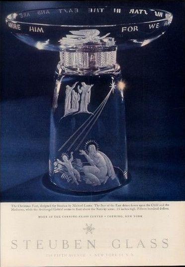 Новогодняя реклама Vintage/1951 -1956 включительно, фото № 37