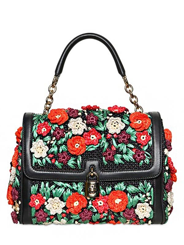 Вязаные сумки... Богатству фантазии дизайнеров нет предела!