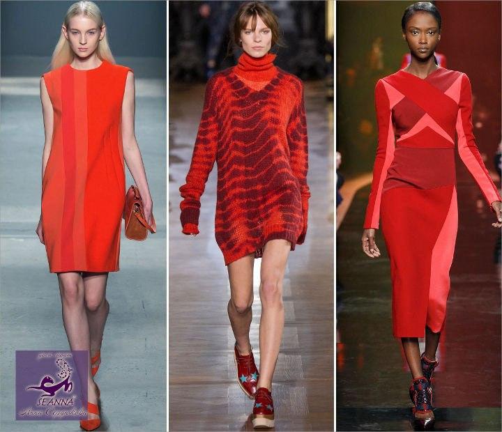 выбрать красный цвет