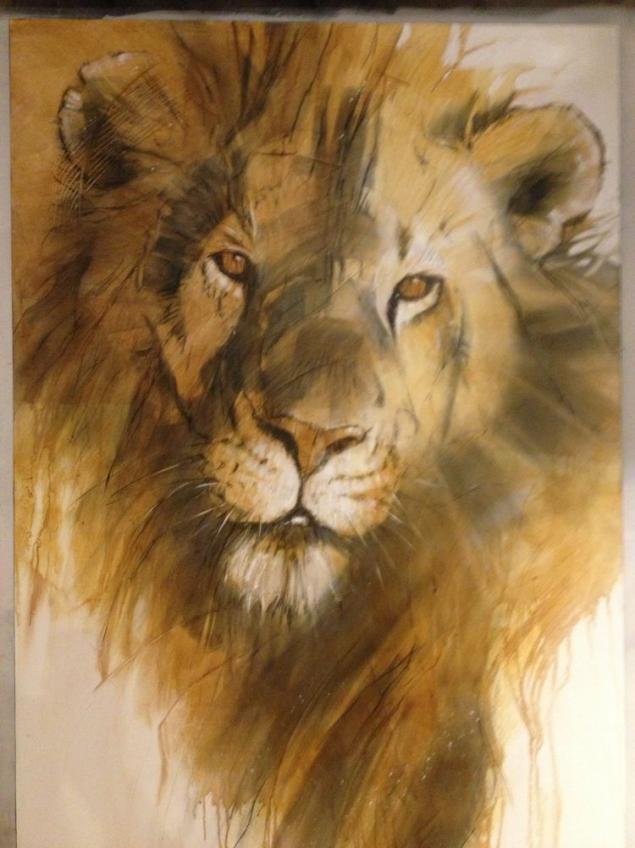 Дикая жизнь Африки в работах Anne London , художник, графика, акварель, художница, энн лондон, anne london, mixed-media, анималист, африка, дикая природа, дикие животные