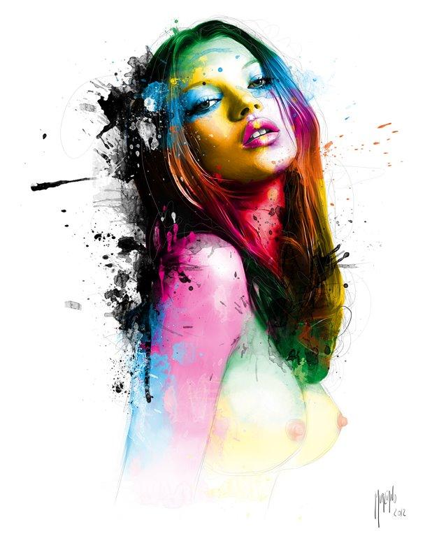 Создать яркий рисунок