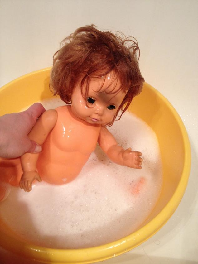 старая кукла