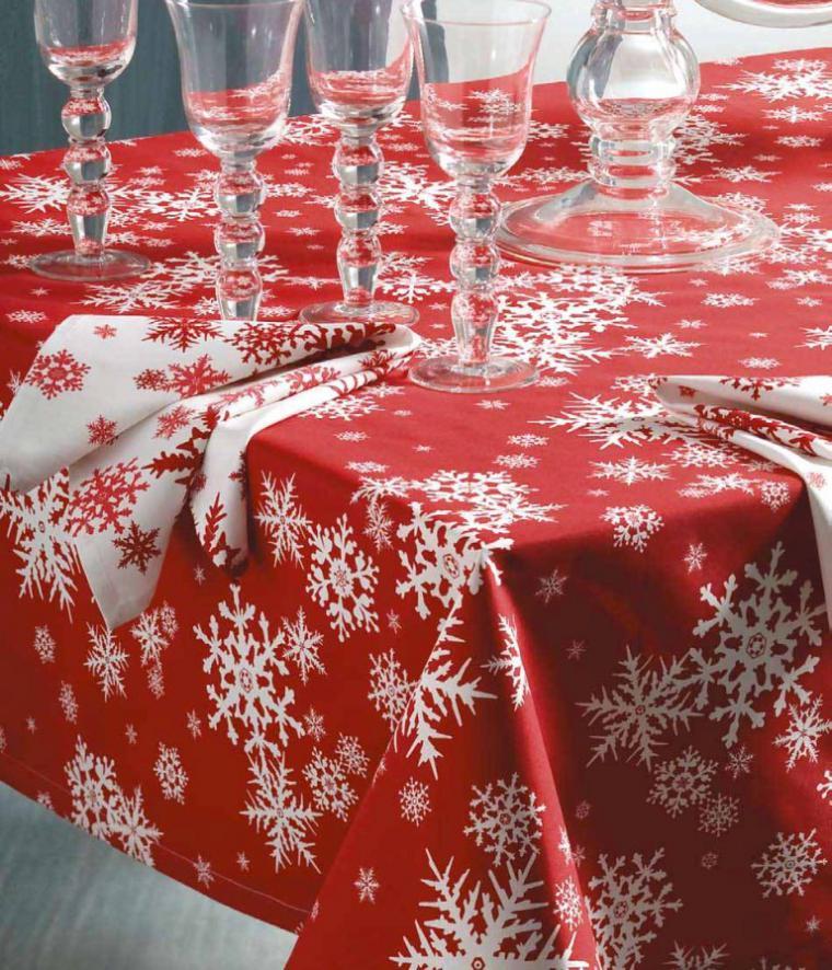 Шьем скатерть на новогодний стол