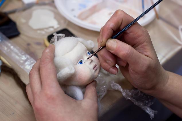 Как сделать куклу из папье-маше видео