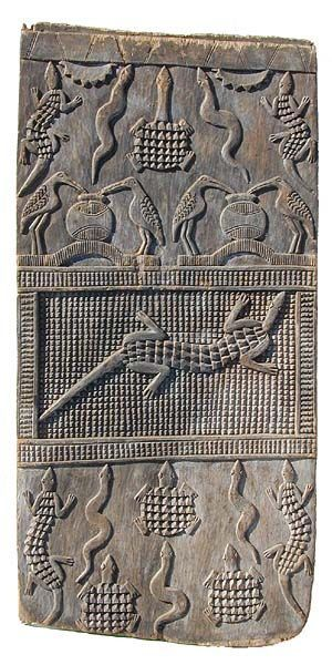 Senufo Door, Ivory Coast - Although less well known than their masks and figures, Senufo doors share their iconography.