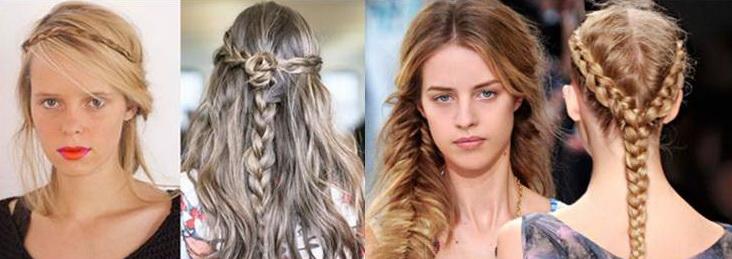 бохо, прически 2015, длинные волосы фото