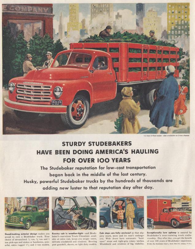 Новогодняя реклама Vintage/1951 -1956 включительно, фото № 19